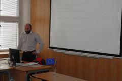 Školení  Řěšanů, Škovedů a Řešitelů VP projektu dne 29.2.2012 v SPŠP-COP Zlín